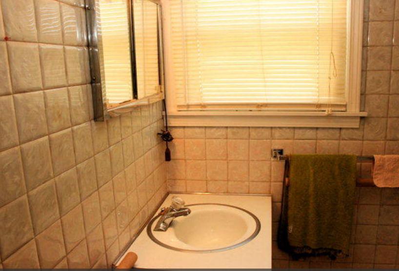 Bathroom before sink