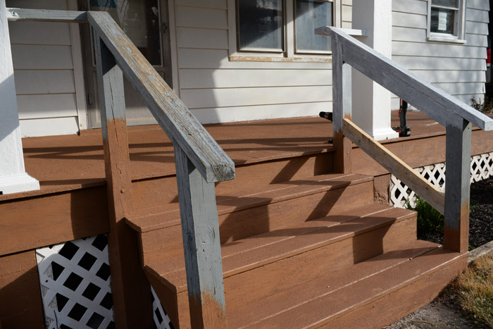 Porch-rail-before