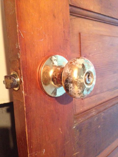 Old-door-hardware