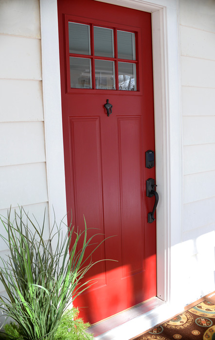 Schlage-red-door