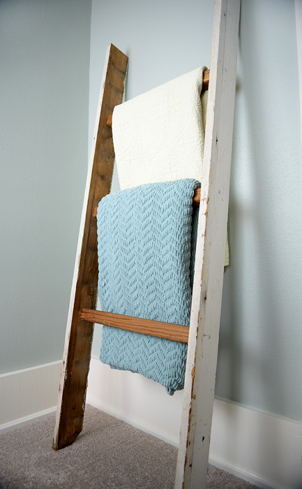 Old-door-frame-ladder