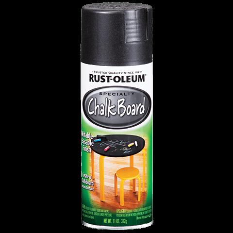 Rustoleum chalkboard spray