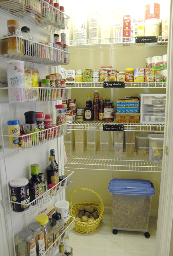 kitchen cabinet wire shelving how i organize my pantry living rich on lessliving rich 5867