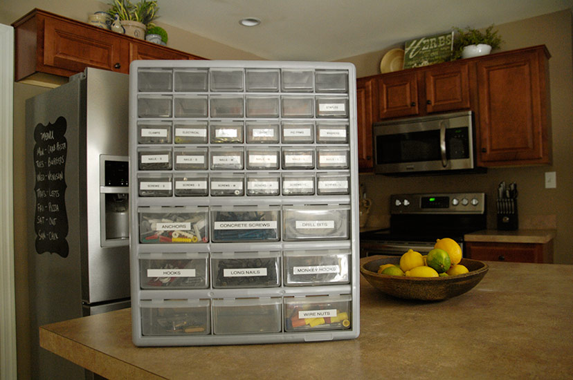 Organizing Nuts And Bolts Living Rich On Lessliving Rich