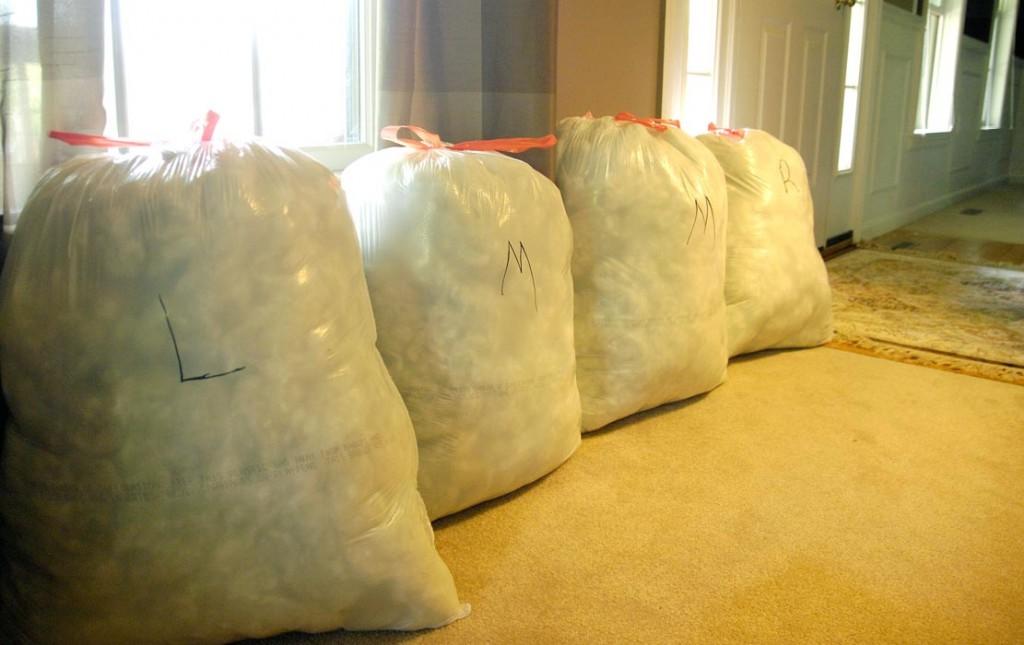 Bags Of Polyfil