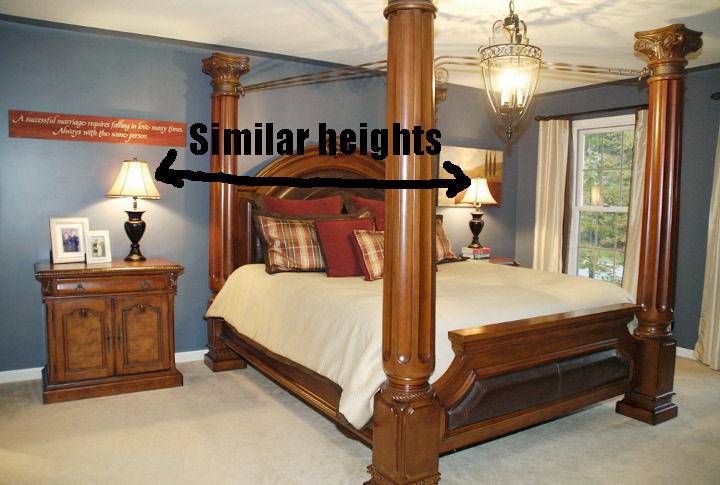 Bedroom Height Ilration
