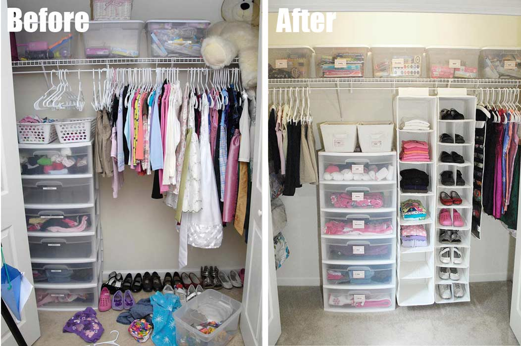 My 7 Total Closet Makeover Living Rich On Lessliving