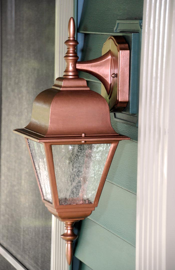 Exterior: Easy, Thrifty Exterior Light Makeover