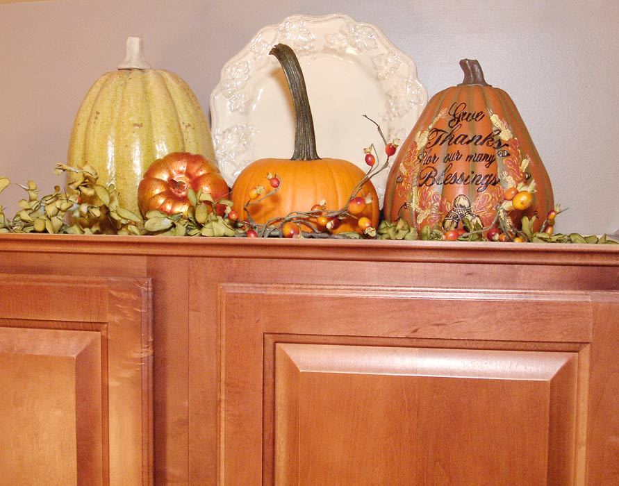 Fall Kitchen Decor Living Rich On Lessliving Rich On Less