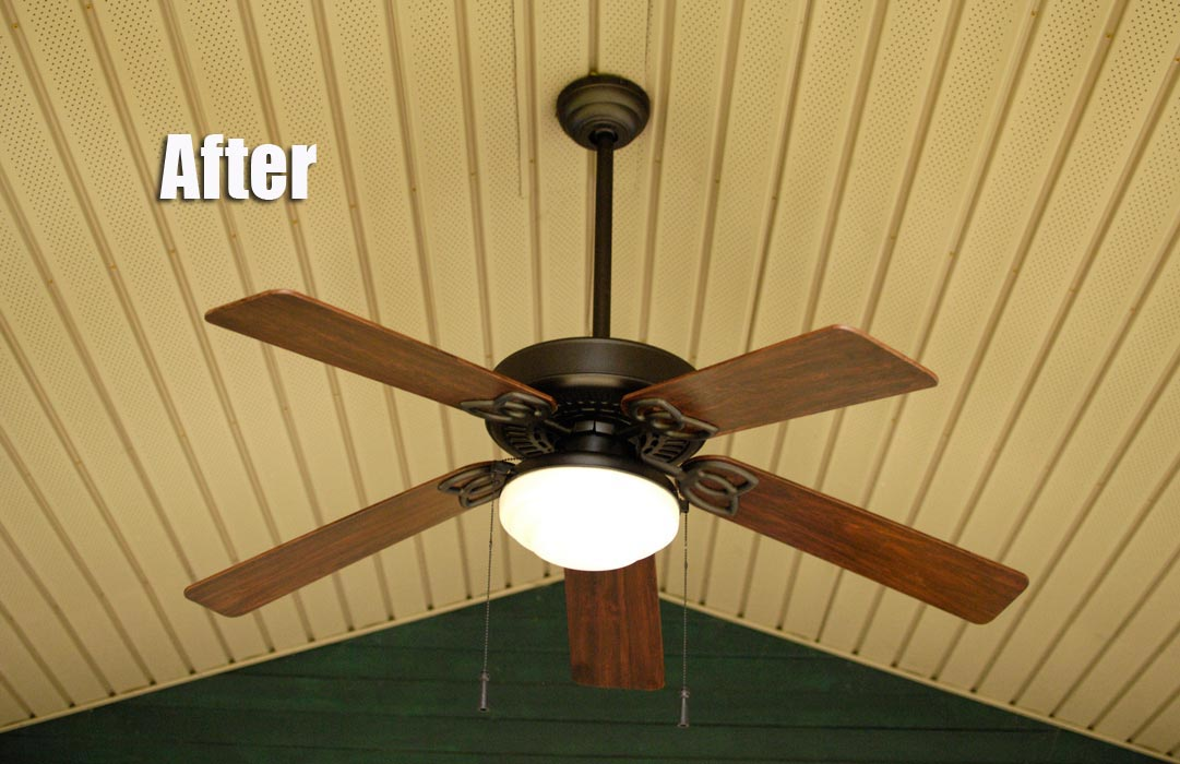 The Great Outdoor Fan Renovation Living Rich On