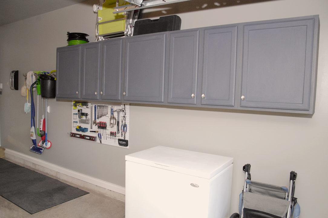 Finished Garage Cabinets