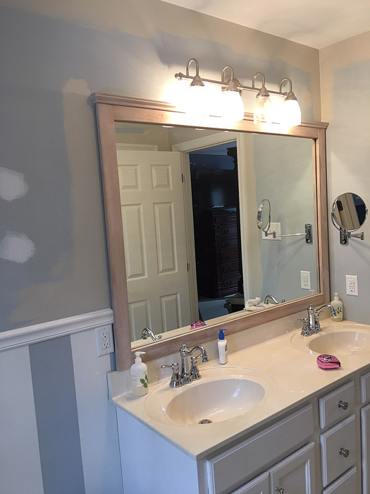 Master bathroom redo - Living Rich on LessLiving Rich on Less